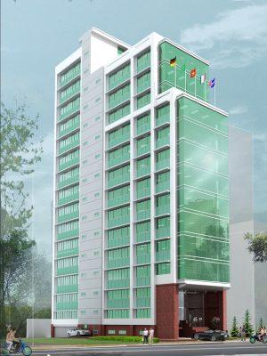 Tòa nhà văn phòng HDTC
