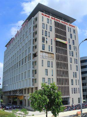 Trường CĐ Viễn Đông khu phần mềm Quang Trung